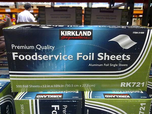 54344 Kirkland Signature Foil 美國進口抽取式鋁箔紙 500張 每張30.5公分x27公分 339 02.jpg