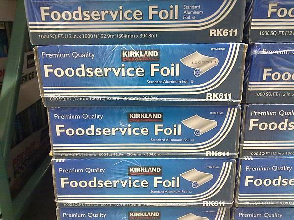 54352 Kirkland Signature Foil 美國進口鋁箔紙 30.5公分x304.8公尺 699 02.jpg