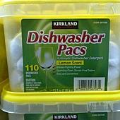 567036 Kirkland Signature 洗碗機專用清潔錠 110入 清新檸檬香味 389 03.jpg