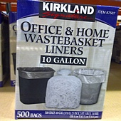 87507 Kirkland Signature 美國進口萬用垃圾袋 37.8公升x500個 58.4x63.5公分 339 02.jpg