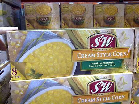 21164 S&W Cream Style Corn 玉米醬 美國製 418公克x8罐 269 02.jpg