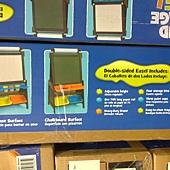 999561 KidKraft Grand Storage Easel 直立式畫架收納組 64x57x126公分 75英呎紙捲 3個畫杯 4塑膠收納香 黑白板 112-122公分 2799 04.jpg