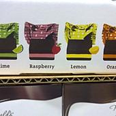 691561 Maxfield Fruit Melts 繽紛水果風味夾心黑巧克力 4種口味50個共665公克 美國製造 389 05.jpg