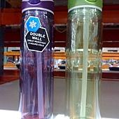 659974 Avex 隨身冷水瓶2件組 532毫升 耐熱75度C 雙層設計 保冷2小時  Trita材質 不含雙酚A 749 03