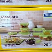 100163 Glasslock 玻璃保鮮合組 含蓋共20件 韓國製 999 02.jpg