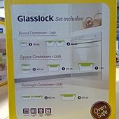 100163 Glasslock 玻璃保鮮合組 含蓋共20件 韓國製 999 04.jpg