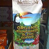 676047 Magnum  熱帶雨林有機咖啡豆 2磅907公克 美國產 408  02