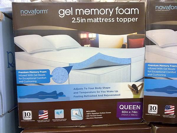 86491 Novaform 雙人記憶床墊 5x6.2尺 4799 02.jpg