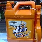 101566 Mr. Muscle 威猛先生 高效溶油廚房清潔劑 500公克噴槍& 4公升補充液 日本進口 335 02.jpg