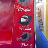 99489 Belfine XMAS Chocolate 耶誕造型巧克力片 每盒三種風味及造型 36片共288公克 比利時製 299 04.jpg
