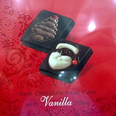99489 Belfine XMAS Chocolate 耶誕造型巧克力片 每盒三種風味及造型 36片共288公克 比利時製 299 06.jpg