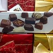 213979 Kirkland Signature 精選盒裝巧克力 454公克 金紅綠三種包裝 比利時製造 399 03.jpg