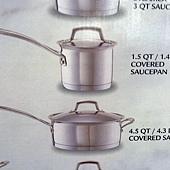 673981 Kirkland Signature 不鏽鋼鍋具13件組腹部鏽鋼蓋(平底鍋除外) 泰國製 5999 14.jpg