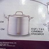 673981 Kirkland Signature 不鏽鋼鍋具13件組腹部鏽鋼蓋(平底鍋除外) 泰國製 5999 11.jpg