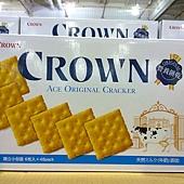 67640 Crown Yo  Long 優龍原味餅乾 每盒48包1200公克 韓國產 239 02.jpg