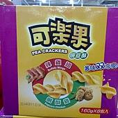 101807 Koloko Pea Crackers 可樂果豌豆酥 鹽酥雞&辣雞翅口味 每盒8袋共1280公克 台灣產 249 02.jpg