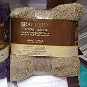597006 Grandeur 印度進口純棉毛巾四入 40x76公分 6色 印度製275 04.jpg