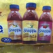 207679 Snapple 水果風味茶飲料 覆盆莓+蜜桃+檸檬風味 無果汁 591毫升x24罐 美國產 879 03.jpg