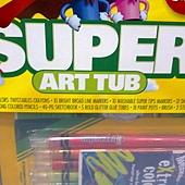 999721 Crayola Super Art Tub 超級繪畫桶 彩色筆+色鉛筆+素描本+膠水+18入顏料 6歲以上 899 03.jpg