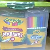 999721 Crayola Super Art Tub 超級繪畫桶 彩色筆+色鉛筆+素描本+膠水+18入顏料 6歲以上 899 04.jpg