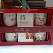 661193 Starbucks Coffee Gift Set 精選研磨咖啡粉禮盒 70公克咖啡粉+4馬克杯組 339 02