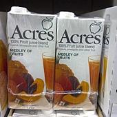 47355 Acres Medley Fruit Juice 綜合水果果汁 每組1000毫升1公升x6 原汁含有率 99.97% 南非製 339 02.jpg
