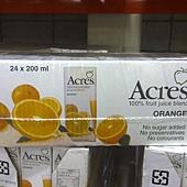 69823 Acres Orange Juice Blend 柳橙綜合果汁果汁飲料 每組200毫升x24 無添加糖 原汁含有率 99.97% 南非製 339 02.jpg