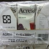 47360 Acres Red Grape Juice 紅葡萄果汁飲料 每組200毫升x24 無添加糖 原汁含有率 99.97% 南非製 339 03.jpg