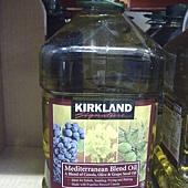 581318 Kirkland Signature Mediterranean Blend Oil 地中海式調和油調合油 3公升 美國製 399 02.jpg