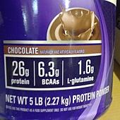 78173 EAS 100% WHEY Protein 純乳清蛋白營養補充粉 巧克力口味 2.27公斤 美國製 食品 1999 03.jpg