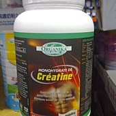 98167 Organika Creatine Powder 優格康純肌酸粉末 1000公克 加拿大製 1599 02.jpg