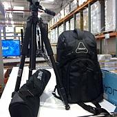 101552 Dolica AX680P104+D10 68吋多功能專業鋁合金腳架+多向式雲台+多功能時尚防震專業相機後背包 2999 03.jpg
