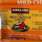 76165 Kirkland Signature Mild Cheddar Cheese 淡味切達乾酪 907公克 美國產 189 03.jpg