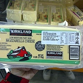 124255 Kirkland Signature Mozzarella Cheese  摩佐拉 摩佐羅拉 乾酪 2.72公斤 美國產 499 02.jpg