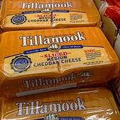 67917 Tillamook  Sliced Medium Cheddar 中度熟成切達乾酪片 907公克 美國產 295 02