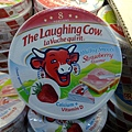 98732 the Laughing Cow Cheese Snack Mlky Smooth Strawberry Flavour 笑牛圓乳酪(乾酪)點心草莓口味 120公克x4 波蘭產 冷藏 275 02