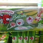 74447 Laughing Cow Belcube Cheese 迷你乾酪綜合包 每組125公克x4 法國產 339 02