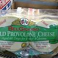 114805 Belgioioso Sliced Mild Provolone Aged 60Days for Flavor & Aroma 波蘿伏酪切片乾酪60天  907公克 美國產 冷藏 285 02
