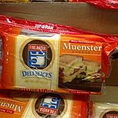 331346 Finlandia Muenster Natural Deli Slices 莫恩斯特乾酪 907公克 美國產 冷藏 265 02