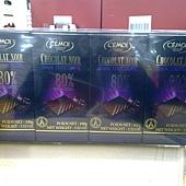 92110 Cemoi 80%黑巧克力 每組100公克x4 法國產 225 02