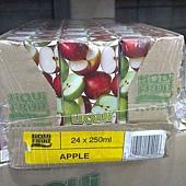 64505 Liqui Fruit Apple Juice 蘋果汁 每箱250毫升x24 原汁含有率99.97% 不加糖 南非產 375 02