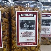 656622 Kirkland Signature H.K. Anderson Peanut Butter Filled Pretzel Nuggets 花生醬夾心脆餅 1.47公斤 美國產 329 02