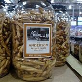 484354 H.K. Anderson Braided Twists Honey Wheat 蜂蜜穗帶賣餅 1049公克 不含人工香料、色素及防腐劑 美國產 269 02