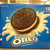 89784 Oreo 奧利奧  原味巧克力夾心餅乾-香草夾心 10包入共1370公克 印尼產 249 02