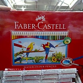 56616 Faber-Castell WaterColour Pencil 輝柏36色水溶性彩色鉛筆 水溶性顏料 符合歐洲EN71安全標準 適合三歲以上 印尼產 329 02.jpg
