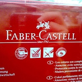 56616 Faber-Castell WaterColour Pencil 輝柏36色水溶性彩色鉛筆 水溶性顏料 符合歐洲EN71安全標準 適合三歲以上 印尼產 329 05.jpg