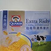 78299 QUAKER 桂格北海道風味特濃燕麥片 每盒48包x42克 495 02