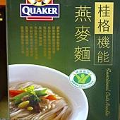96550 桂格Quaker  機能燕麥麵 75克x5入x3盒 319 02