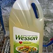 84430 Wesson Canola Oil 100%芥花油 4.73公升 含OMEGA-3 無反式脂肪 防腐劑膽固醇 美國產 359 02