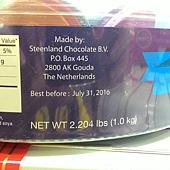 99464 Belgian  彩色錢幣牛奶巧克力 1公斤 荷蘭製 379 09